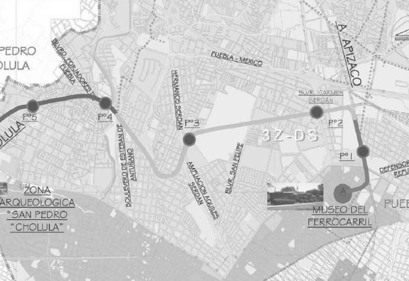 Gerencia de las obras del tranvía Puebla – Cholula