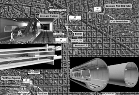 META will participate in the extension of Llobregat Anoia metro
