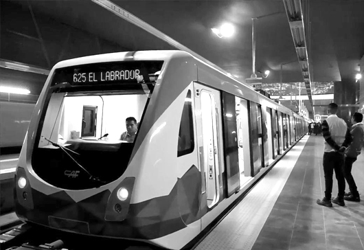 Meta Engineering and AudingMex, on the short list of bidders for the Quito Metro development project